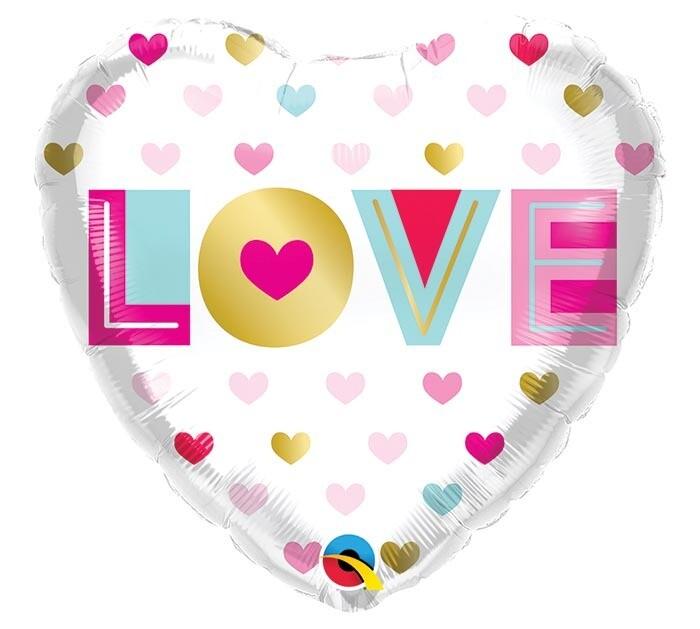 """18"""" HEART LOVE"""