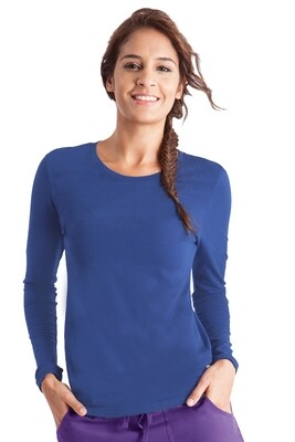 5047 MELISSA TEE XS ROYAL BLUE