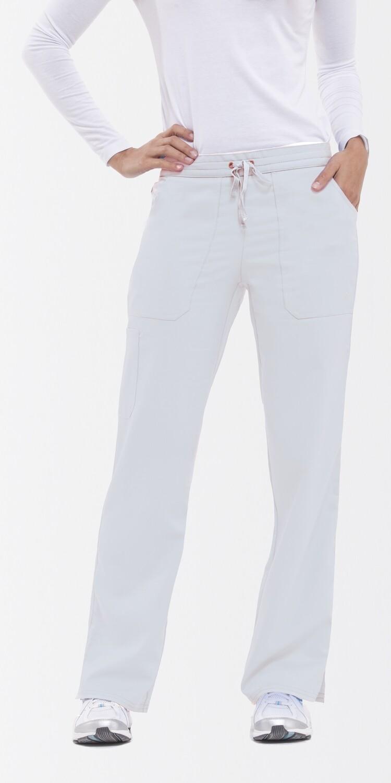9121 TIFFANY PANT - PL WHITE 2XL