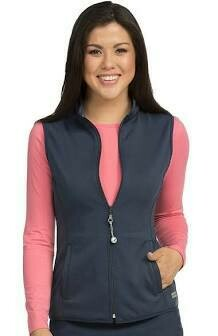 8690 NAVY SOFT SHELL VEST 2XL