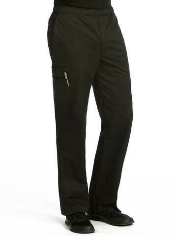 8702 MEN'S PANT BLACK - MC 2XL REGULAR