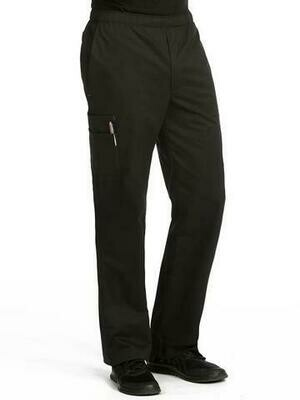8702 MEN'S PANT BLACK - MC M REGULAR