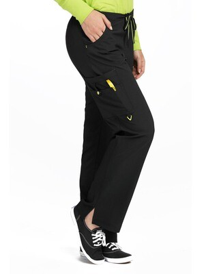 8743 LADIES PANT - MC 2XL BLACK R