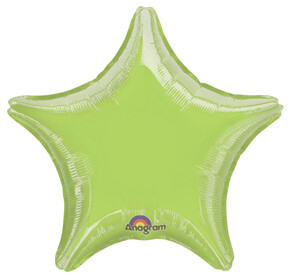 18 - METALLIC SOLID STAR LIME