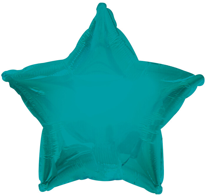 18 - METALLIC SOLID STAR TEAL