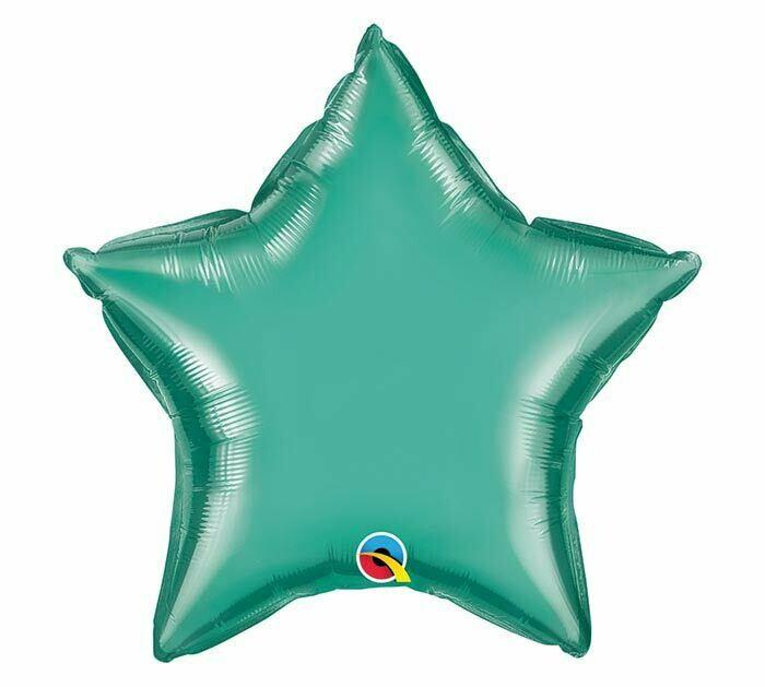 18 - METALLIC SOLID STAR GREEN