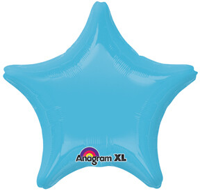 18 - METALLIC SOLID STAR CARIBBEAN BLUE