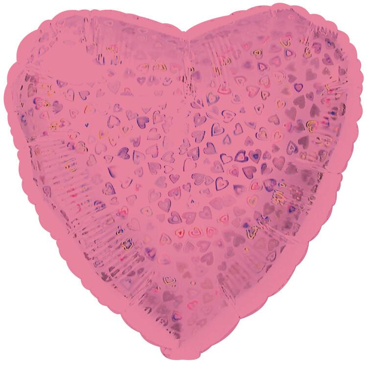 18 - HEART DAZZLELOON PINK