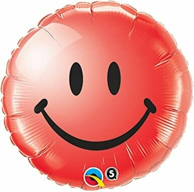 18 - SMILEY FACE RED