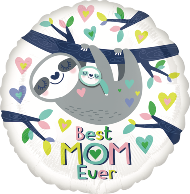 17 - BEST MOM EVER SLOTH