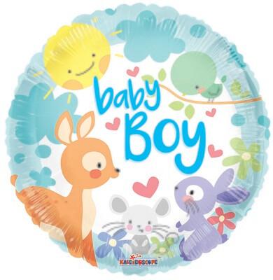 18 - BABY FOREST ANIMALS BABY BOY
