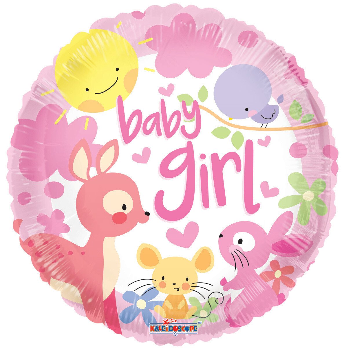 18 - BABY FOREST ANIMALS BABY GIRL