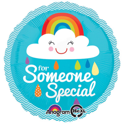 18 - FOR SOMEONE SPECIAL RAINBOW & CLOUD