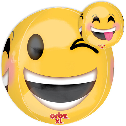 "16"" ORBZ MULTI FACED EMOJI"