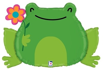 31 - FROG WITH FLOWER