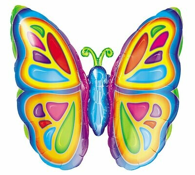 25 - BRIGHT COLORFUL BUTTERFLY