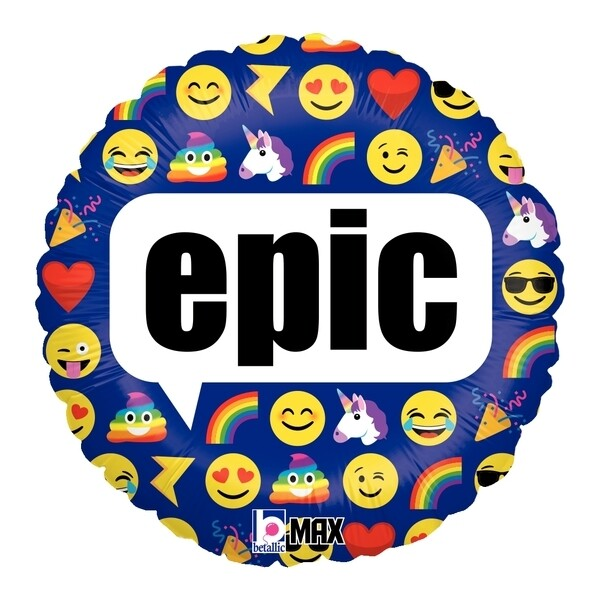 "18"" EPIC EMOJI BALLOON"