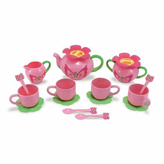 6181-BELLA BUTTERFLY TEA SET