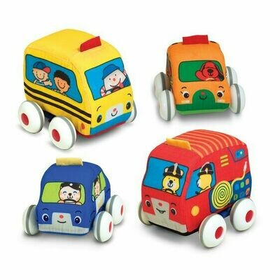 9168-PULL BACK VEHICLES BABY & TODDLER
