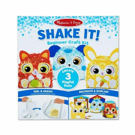 ARTS & CRAFT SHAKE IT 30184-DELUXE PETS