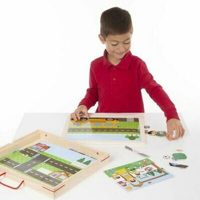 9918-MAGNETIC MATCHING PICTURE GAME