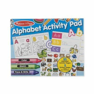ACTIVITY & STICKER PAD 8563-ALPHABET