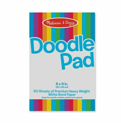 ARTS & CRAFTS - PADS & MARKERS 4107-DOODLE PAD