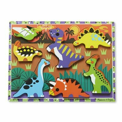 CHUNKY PUZZLE 3747-DINOSAURS
