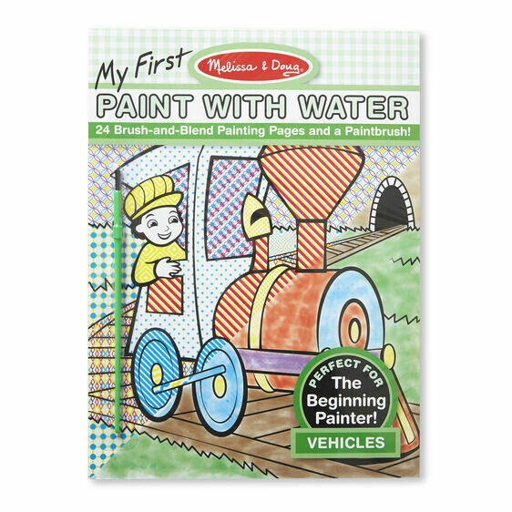 ARTS & CRAFTS PAINTING 9339-VEHICLES