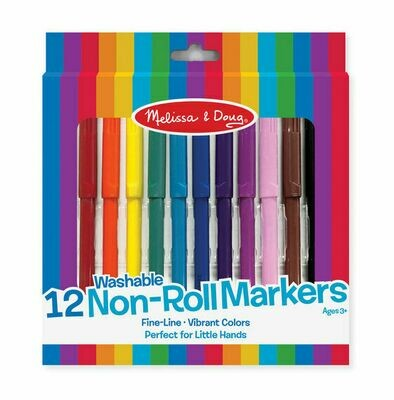 ARTS & CRAFTS - PADS & MARKERS 4221-NON-ROLL MARKERS
