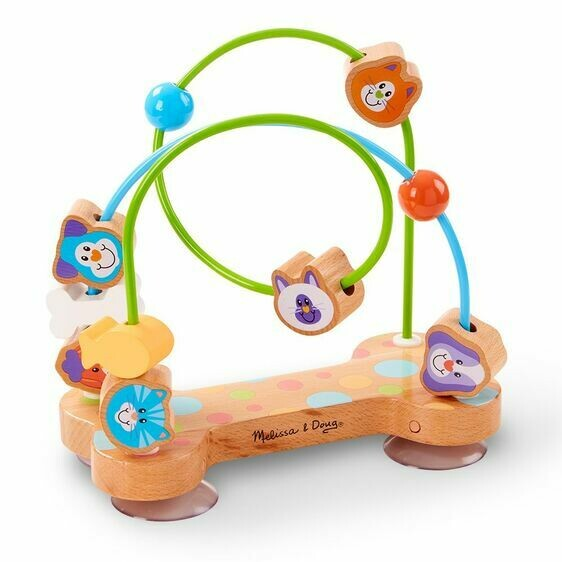 FIRST- PLAY BABY TOYS 4168-BEAD MAZE - PETS