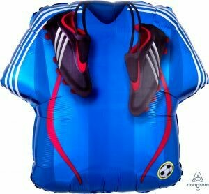 24 - SOCCER JERSEY AND SHOES