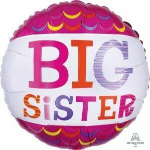 18 - HOT PINK BIG SISTER