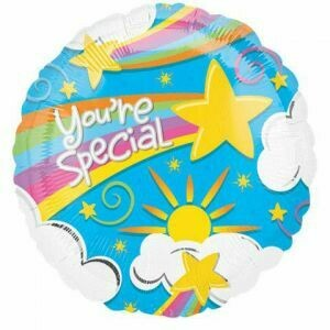 18 - YOU'RE SPECIAL RAINBOW CLOUDS & STARS