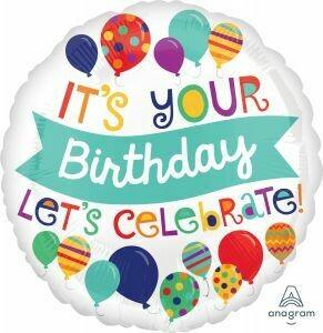 18 - IT'S YOUR BIRTHDAY LET'S CELEBRATE