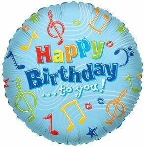 18 - BRIGHT BIRTHDAY MUSIC NOTES