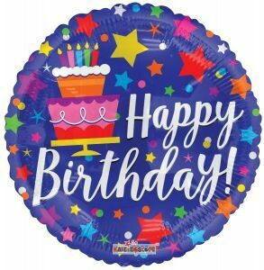 18 - BIRTHDAY CAKE & STARS