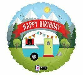 18 - HAPPY CAMPER BIRTHDAY