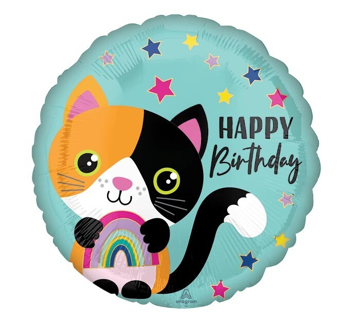 18 - CALICO CAT BIRTHDAY