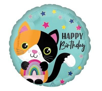 18 - CALICO CAT BIRTHDAY