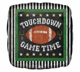 18 - SQUARE TOUCHDOWN GAME TIME