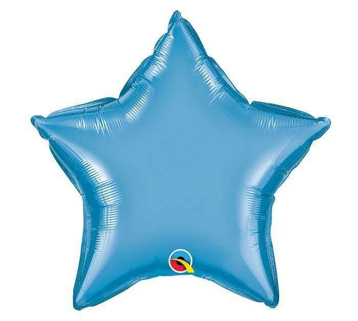 20 - CHROME SOLID STAR BLUE