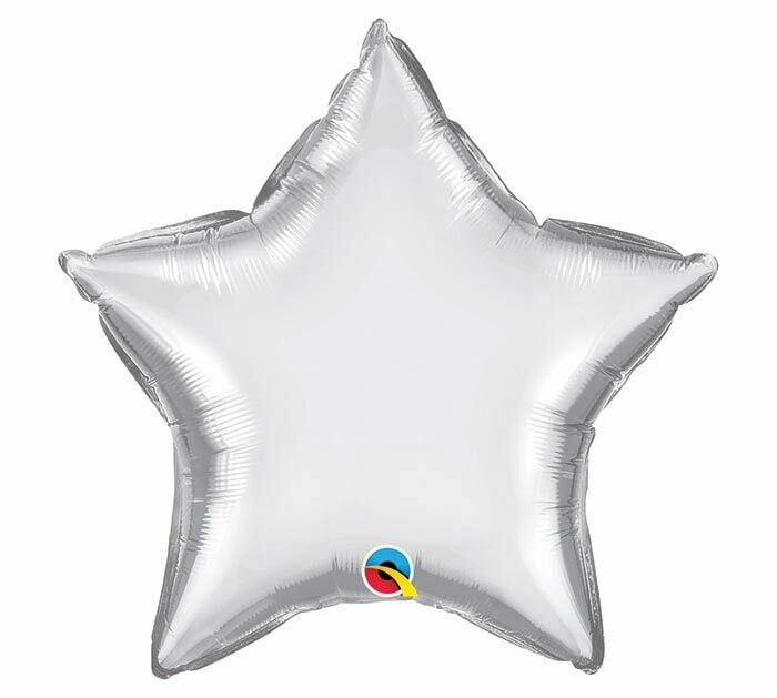 """20"""" CHROME SOLID STAR SILVER"""