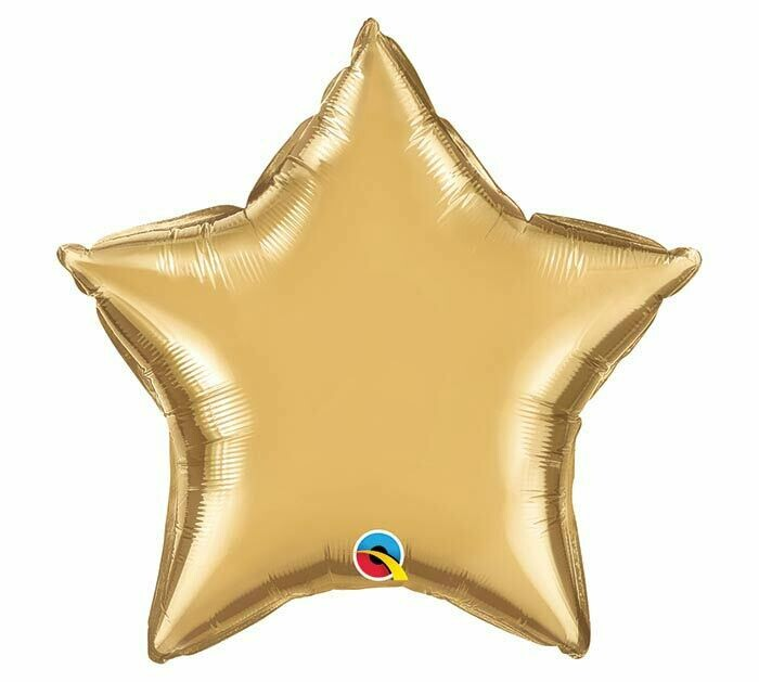 """20"""" CHROME SOLID STAR GOLD"""