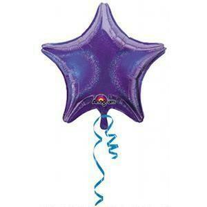 "17"" DAZZLER STAR SOLID PURPLE"