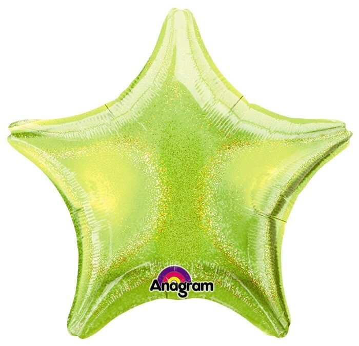 17 - DAZZLER STAR SOLID LIME
