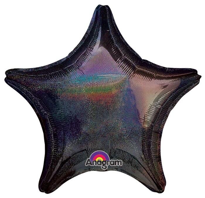 17 - DAZZLER STAR SOLID BLACK