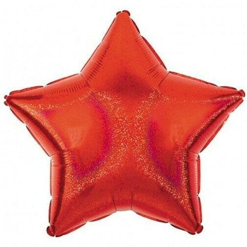 17 - DAZZLER STAR SOLID RED
