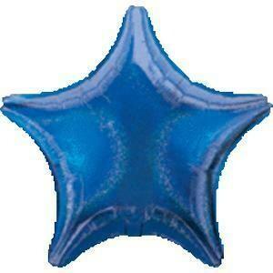 "17"" DAZZLER STAR SOLID ROYAL BLUE"
