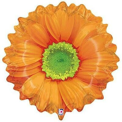 XL BRIGHT BLOOMS ORANGE FLOWER